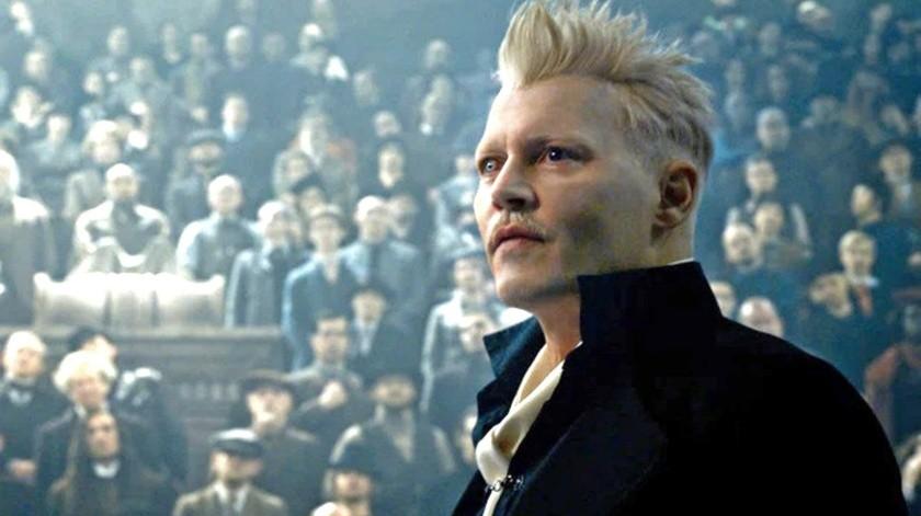 """Johnny Depp había encarnado a """"Gellert Grindelwald"""" desde la primera cinta de """"Animales Fantásticos y Dónde Encontrarlos"""".(Tomada de la red)"""