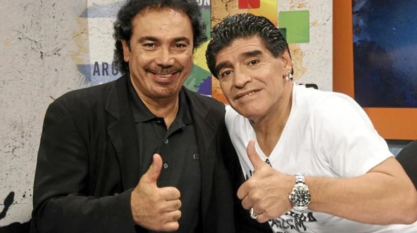 """La """"humilde"""" victoria de Hugo Sánchez contra Diego Maradona(Especial)"""