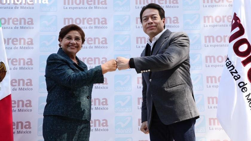 Mario Delgado aseguró en la coalición con Nueva Alianza no estará Elba Esther Gordillo(Twitter Mario Delgado)