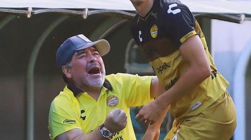 El lado más humano de Maradona en México