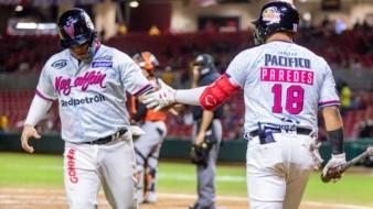 Los hermosillenses Isaac Paredes y Ricardo Valenzuela le hicieron daño al equipo de su ciudad