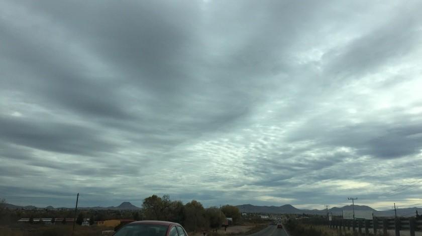 En la frontera de Nogales el valor mínimo será de 0 grados y el máximo de 16(El Imparcial)