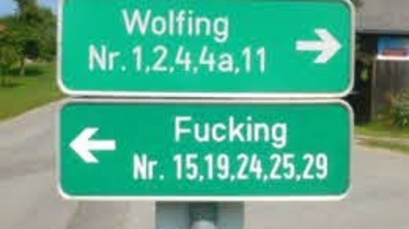 Pueblo austríaco  se cambia de nombre para evitar burlas(Tomada de la red)