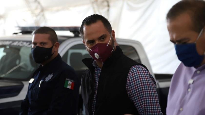 Juan Valdés Moreno, encargado de despacho de la Secretaría de Seguridad y Protección Ciudadana.