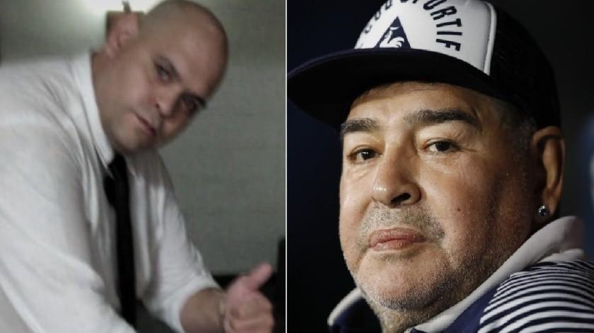 "Maradona: Quién es Diego Molina, que tomó polémica foto en funeral del ""10""(AP)"