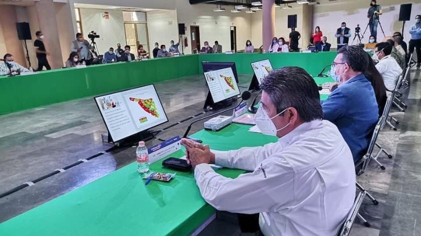 Crearán mapa estatal de riesgo Covid para Sonora(Cortesía)