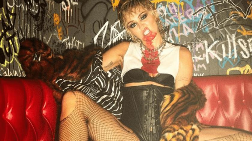 Miley Cyrus tiene actualmente 28 años de edad.(Instagram.)