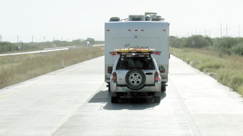 Este año esperan menos paisanos por las carreteras de Sonora.(Banco Digital)