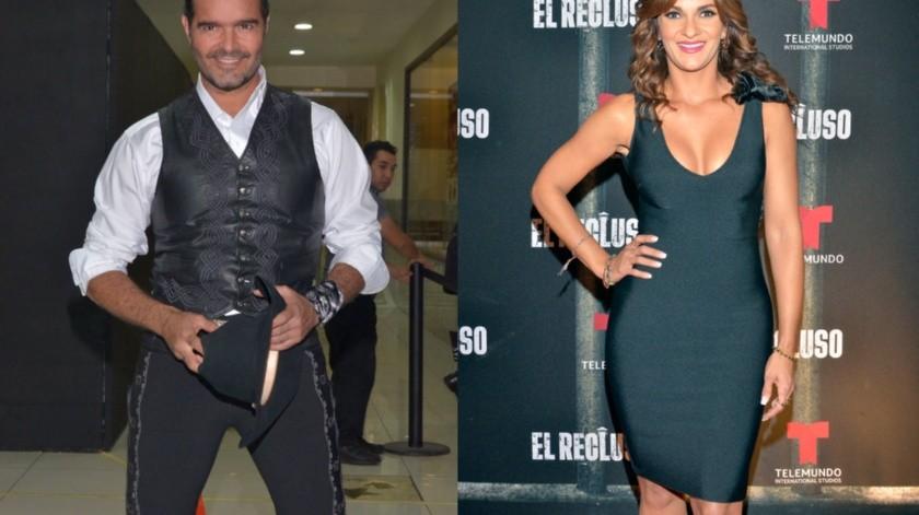 Pablo Montero y Mariana Seoane se muestran muy cariñosos.(Agencia México)