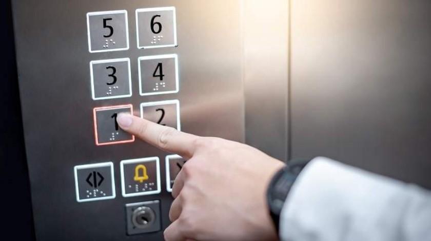 Provoca un incendio en un ascensor(Tomada de la red)