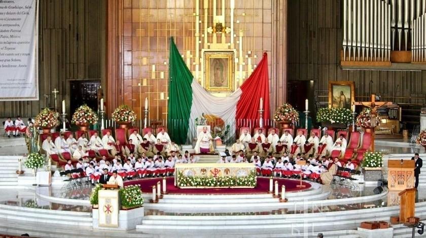 El próximo 3 de diciembre, la televisora del Ajusco estaría grabando el programa en la Basílica de Guadalupe.(Archivo)