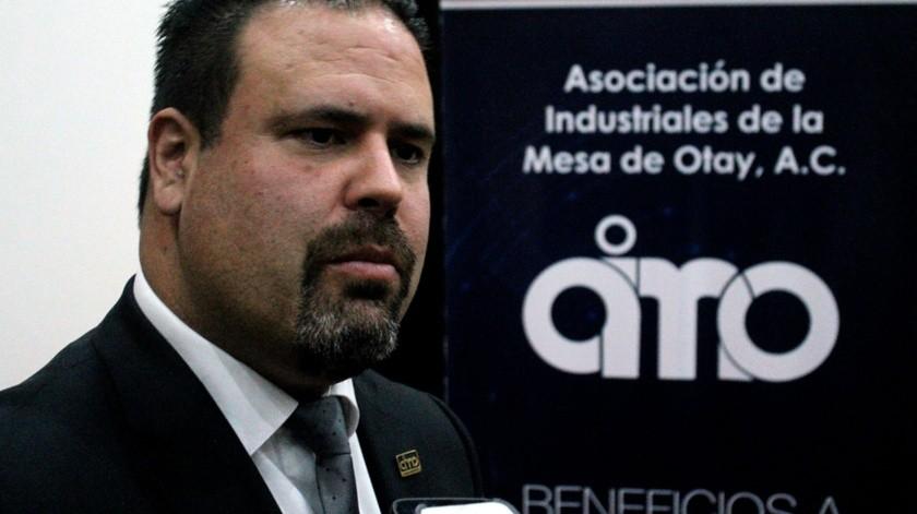 Salvador Díaz González, presidente de la Asociación de Industriales de Mesa de Otay (AIMO)(Cortesía)