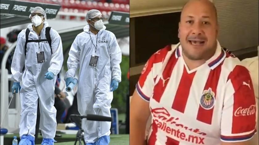 Enrique Alfaro viste de Chivas y se burla de críticas por apertura de estadio(Especial)
