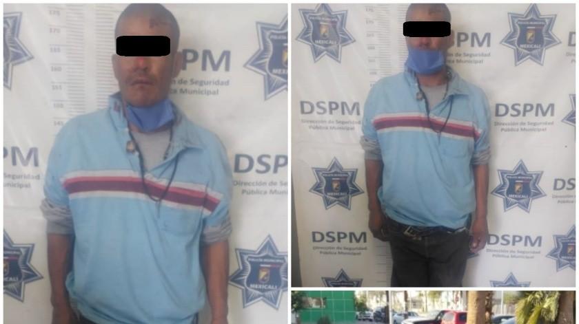Chofer y pasajeros de camión detienen a presunto ladrón