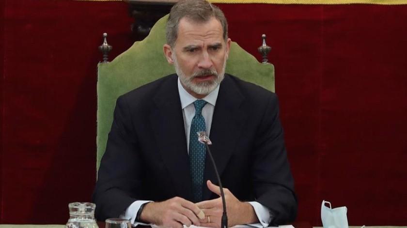 El rey de España, Felipe VI retomará sus actividades tras resultar negativo al Covid(EFE)