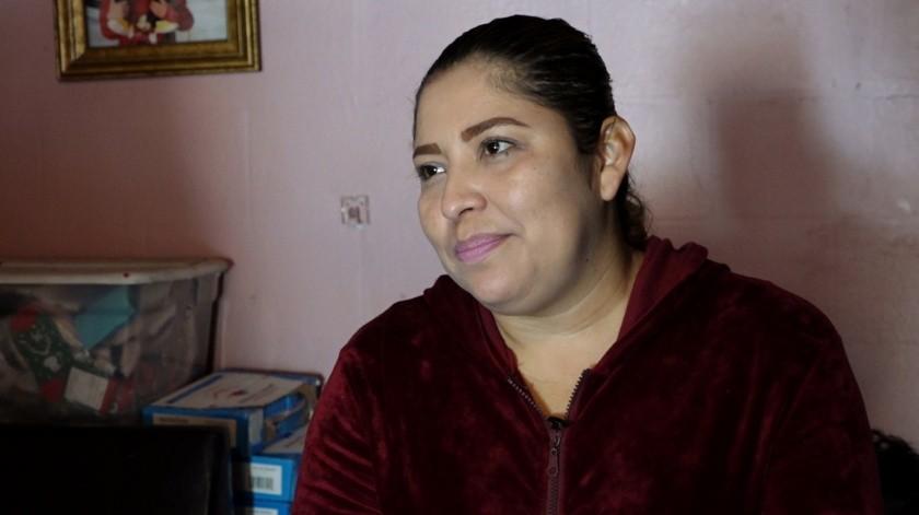 Suceli Nanduca, madre del pequeño Carlos.(Roberto Delgado)