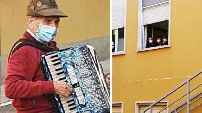 Serenata viral: muere esposa del acordeonista que le tocó fuera de hospital(Especial)
