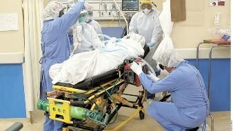 Más de 140 mil 196 personas que trabajan en el Sector Salud se han enfermado de Covid en el País.
