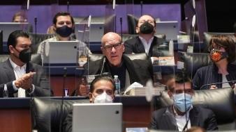 General del pleno del senado hoy, en Ciudad de México