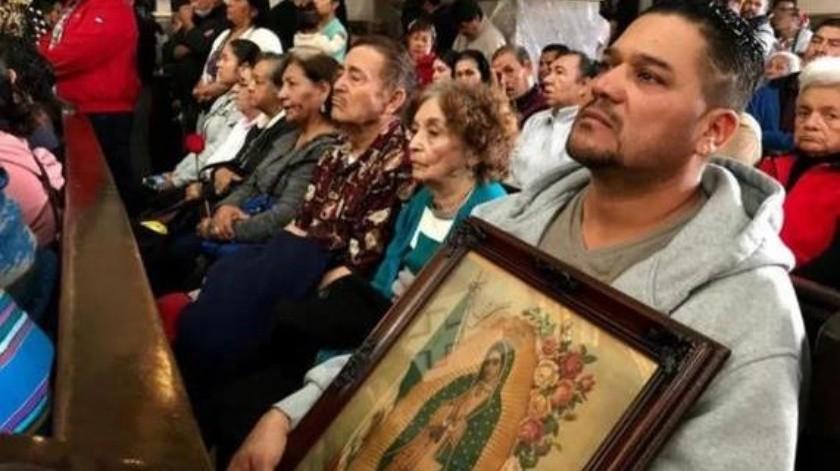 Habrá serenata a puerta cerrada para la Virgen de Guadalupe en Nogales(Maria E. Hernández)