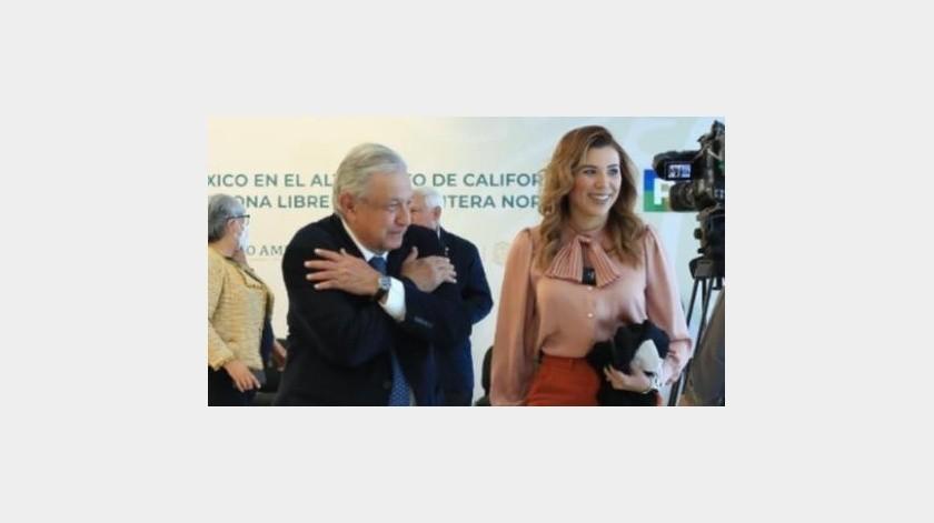Avanza Mexicali tras 2 primeros años de AMLO: Marina del Pilar(Cortesía)