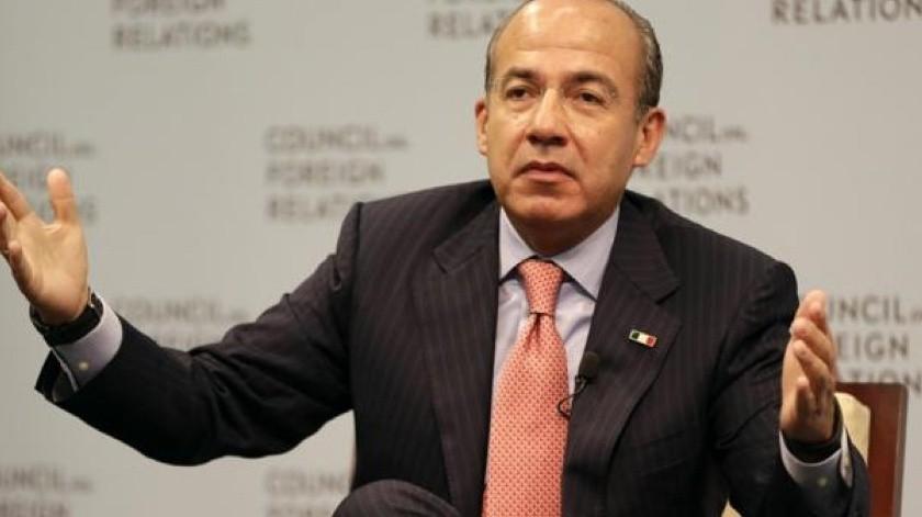 Felipe Calderón uso sus redes sociales para acusar que el Gobierno de AMLO llegó al poder con corrupción(Archivo GH)