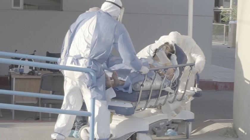 El municipio de Agua Prieta, indicó, se encuentra con una ocupación de 80% en camas de la Secretaría de Salud.
