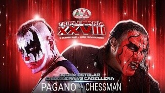 ¡Pagano vs. Chessman! Triplemanía XVIII da a conocer su espectacular cartelera