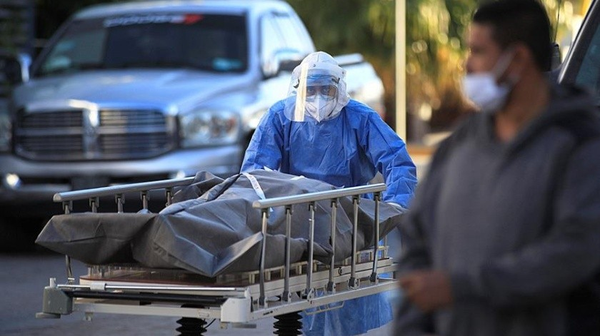 Coronavirus en México: 12 mil 860 nuevos casos y 481 muertes al corte de hoy(EFE)