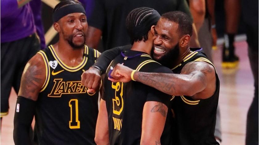Lakers son favoritos para repetir el título.(EFE)