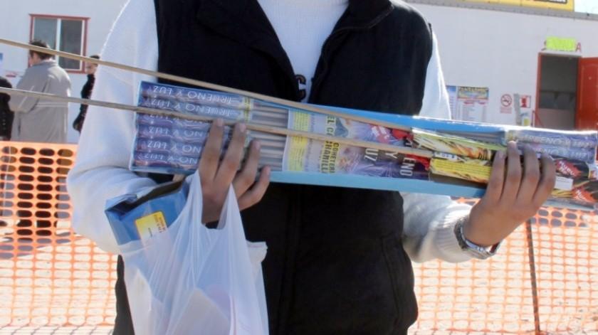 Descartan permisos para vender cohetes en Mexicali