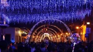 La celebración de la Villa Iluminada en Xico se realizó pese a la pandemia
