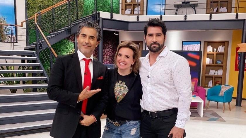 Tras el repentino deceso de Magda Rodríguez, Andrea tomó la batuta del programa matutino de Televisa.