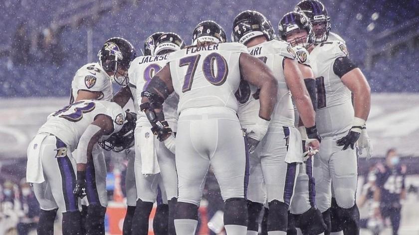 Ravens se destinó hacía Pittsburgh si ningún caso positivo de Covid-19(Instagram @ravens)