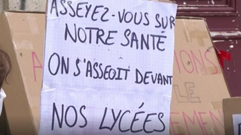 Estudiantes extranjeros en París al borde de la pobreza por pandemia(Captura de pantalla video DW)