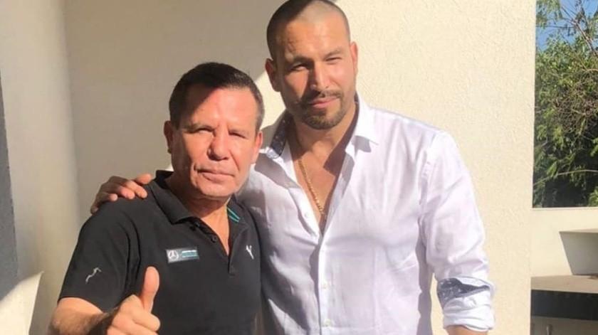 Chávez dijo que Amaya se sentía feliz y agradecido.(Instagram)
