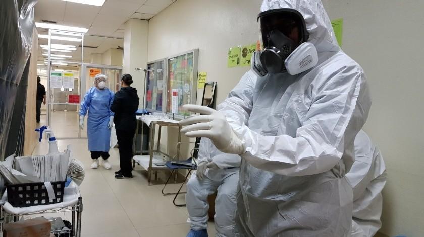 La labor de cada trabajador es sumamente importante ante el impacto de la actual pandemia.(Cortesía)