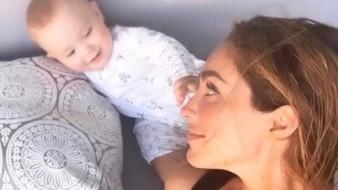 Anahí celebra los 10 meses de su bebé