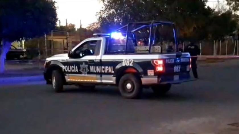 Matan a hombre en la Colonia Luis Echeverría de Ciudad Obregón(Especial)