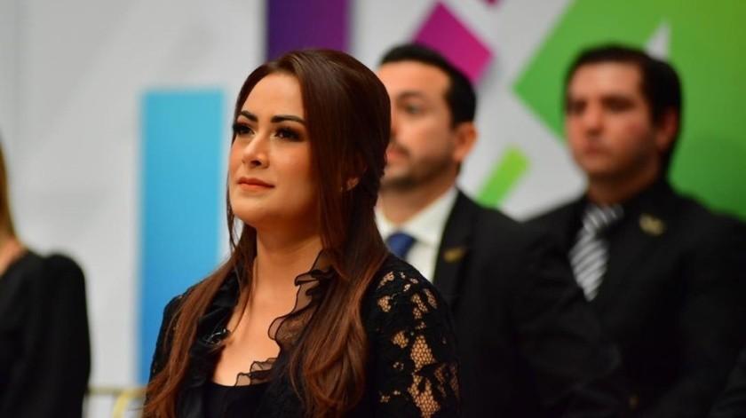 Teresa Jiménez, alcaldesa de Aguascalientes(Foto de @TereJimenezAgs)