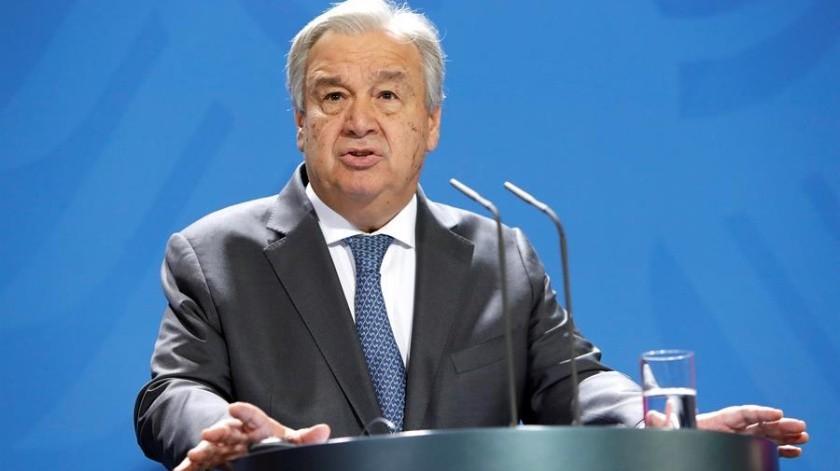 Sin mencionar en concreto a ningún Estado, Guterres advirtió que cuando hay países que van por su cuenta, el virus se propaga en todas las direcciones.(EFE)