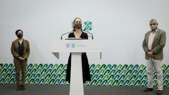 Durante la Inauguración del Centro Metropolitano de Grupo Bimbo, en la delegación Azcapotzalco, la jefa de Gobierno también felicitó Grupo Bimbo.