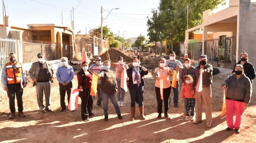Avanza pavimentación en Hermosillo, hoy empezamos en 5 calles del Norte: Celida López(Especial)