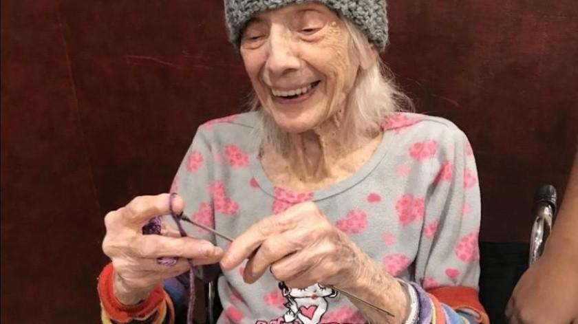 La señora de 102 venció al Covid-19 dos veces y al cáncer(Especial)