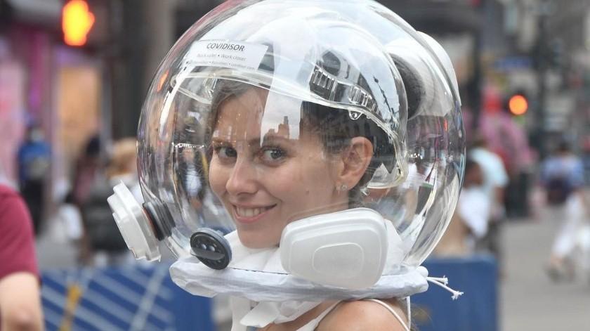 Covidisor, el casco que te protege del coronavirus
