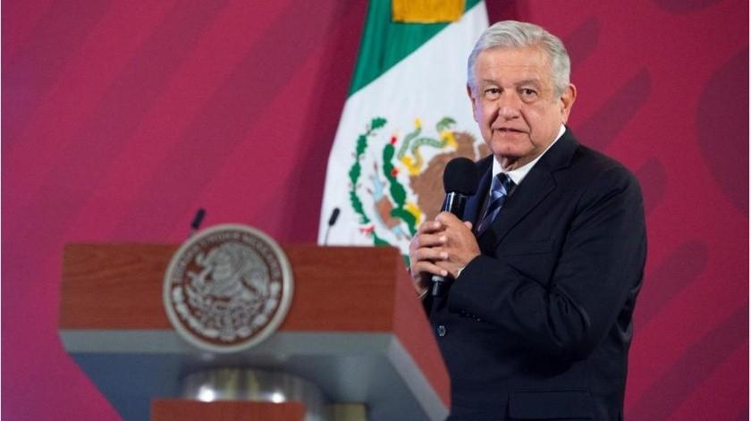 """El mandatario resaltó que su gobierno no quiere """"imponer nada"""", pues se busca convencer.(Gobierno de México)"""