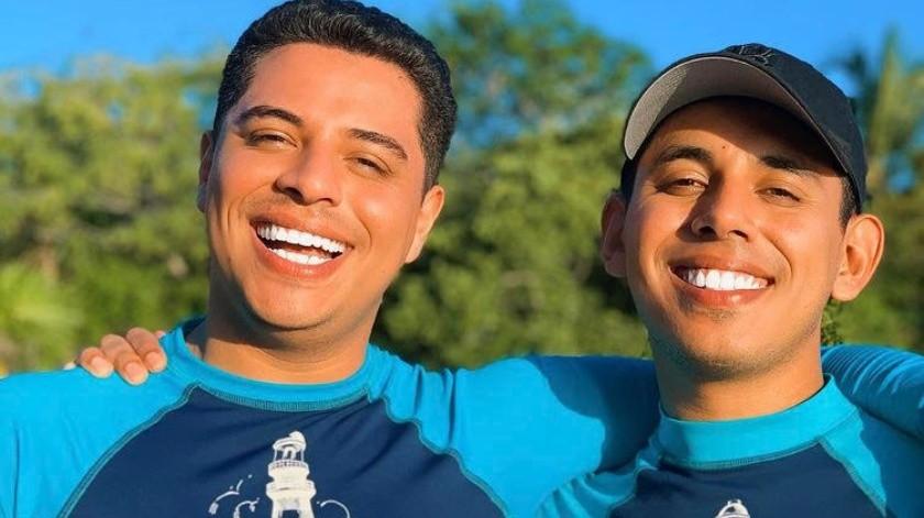 Los hermanos Caz abrieron su corazón.(Cortesía)