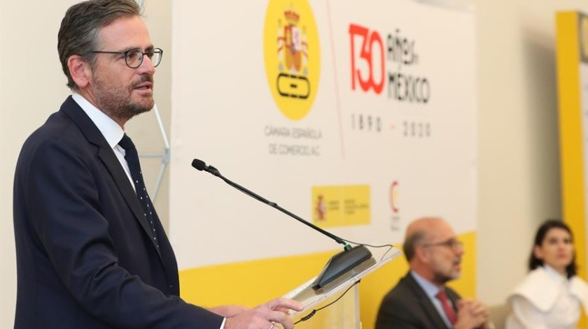 En el apartado de nombramientos, se reeligió al actual presidente de la Camescom, Antonio Basagoiti.(EFE)