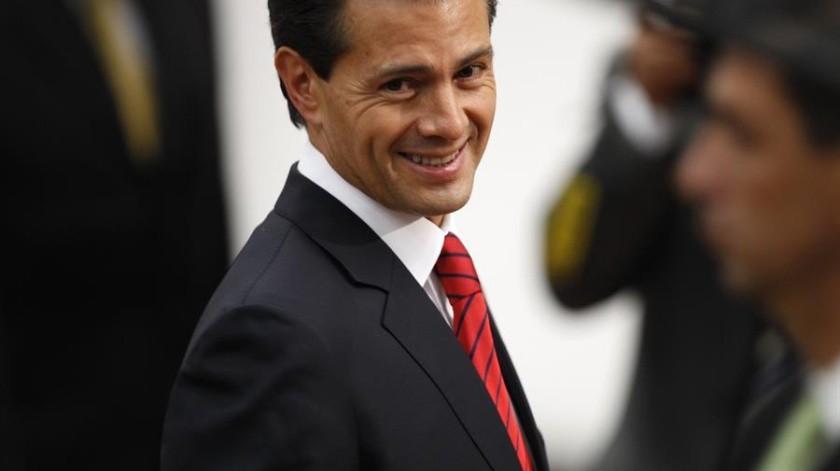 Peña Nieto fue propuestojunto a otras mil 763 personas, lista que se hizo llegar al Senado, quien deberá elegir a quién le dan el reconocimiento.(EFE)