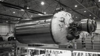 El objeto misterioso es el cohete propulsor perdido de la NASA en 1960